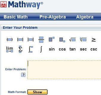 Trouver la solution à un problème de mathématiques avec Mathway   Je, tu, il... nous !   Scoop.it