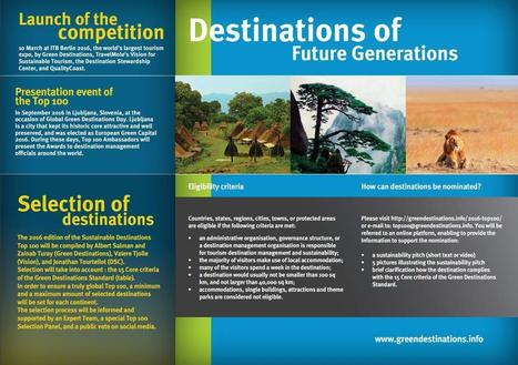Green Destinations » 2016 Sustainable Destinations Top 100 | Sustainable Tourism | Scoop.it