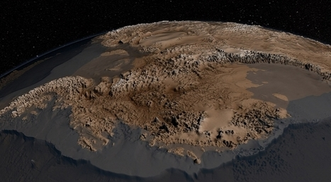 This Is What Antarctica Looks like Underneath the Ice | Skylarkers | Scoop.it