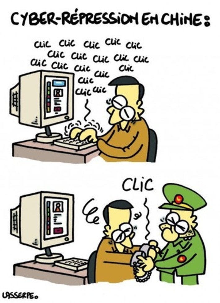 Cyber répression en Chine | Baie d'humour | Scoop.it