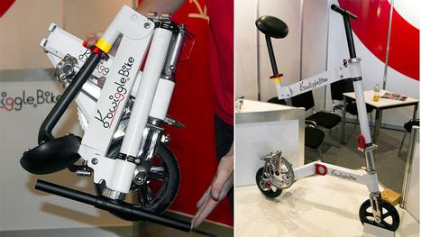 The World's Smallest Folding Bike Can Fit Inside Carry-On Luggage | Run Bike Swim Hike | Scoop.it