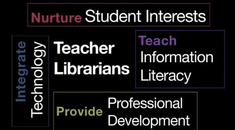 Why Do We Need Teacher Librarians? | 21st Century Information Fluency | Scoop.it