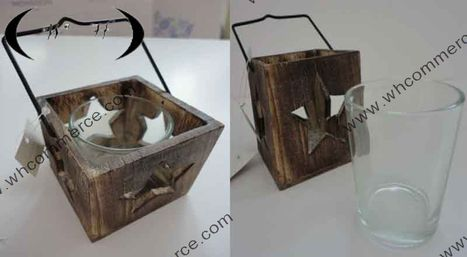 Wooden Glass Stand | Home Decorative Items | Scoop.it