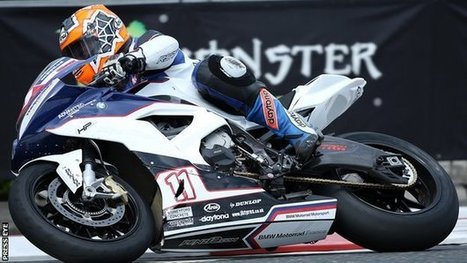 Thompson loses arm after NW200 crash   Racing news from around the web   Scoop.it