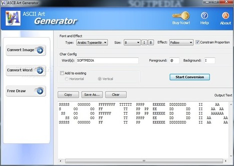 ASCII Art Generator Download | ASCII Art | Scoop.it