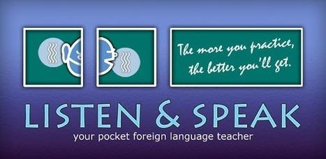 Listen & Speak, para practicar la pronunciación de otros idiomas | Integrando TIC al aula | Scoop.it