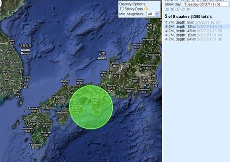 Un séisme de magnitude 5,4 ressenti dans l'ouest du Japon   LesEchos.fr   Japon : séisme, tsunami & conséquences   Scoop.it