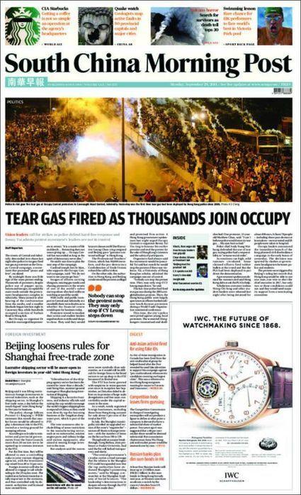 Los medios chinos, silenciosos ante las protestas de Hong Kong | China Technology | Scoop.it