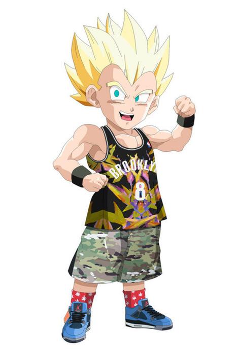 Gotrunk (Dragon Ball Z) en Air Jordan 4 Eminem | www.kryptonhit.com | Scoop.it