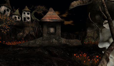 Night Atoll -Roots by Cico Ghost - Second life -Real Travels in a Virtual World   Second Life Destinations   Scoop.it