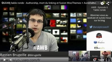 #Podcast Web Bistro d'Analytics SEO : Olivier Andrieu, Guillaume Eouzan, Aurélien Denis et Bastien Brugeille   MindFruits   Référencement internet   Scoop.it