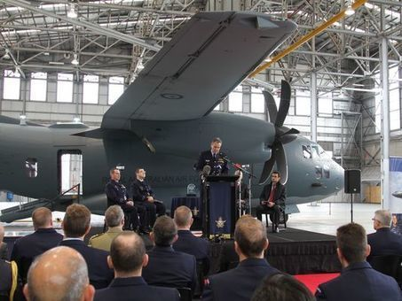 First C-27J Spartan Delivered to Australia | Aerospace industry watch - Paris Air Show | Scoop.it