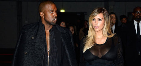 It's official! Kanye popped the question to Kim! | arts and entertainment | Scoop.it