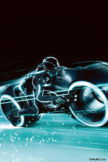 Tron Legacy Bike Poster | Funny Pic And Wallpapers | Scoop.it