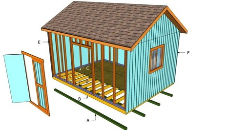 How to build a 12x16 shed | HowToSpecialist - How to Build, Step by Step DIY Plans | Diy Shed Plans Free | Scoop.it
