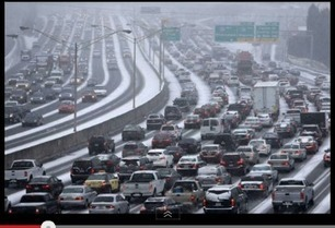 The Real Story You're Not Hearing About The Atlanta Ice Down | Weather