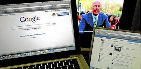 Les Américains lâchent la télé pour les écrans numériques | Metiers Internet | Scoop.it