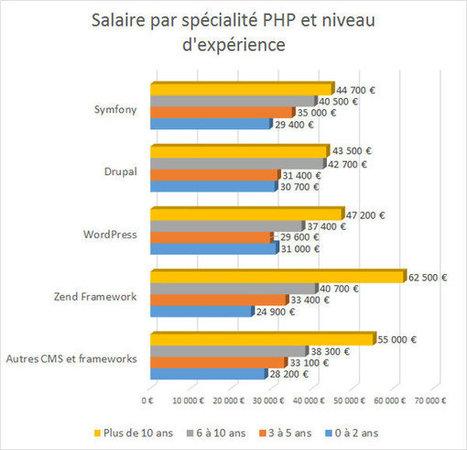 Les salaires des développeurs PHP en2016 | Politique salariale et motivation | Scoop.it