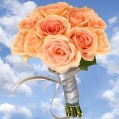 (1)   Bridal Bouquet 15 Roses Short Stems Global Rose | Same Day Delivery Flowers | Scoop.it