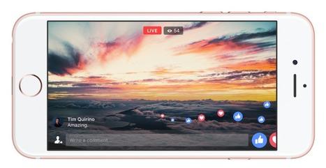 Facebook Live : un mode plein écran et jusqu'à 4 heures de vidéo en direct - Blog du Modérateur | Geeks | Scoop.it