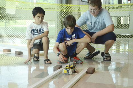 Kids build autonomous cars out of Legos - Pittsburg Morning Sun | Heron | Scoop.it