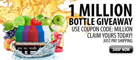 One Million Bottles Of E-liquid Giveaway! | Ecig Advanced News | VapeHalla! | Scoop.it