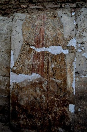 Painted Medieval church walls discovered in Northern Sudan | The Archaeology News Network | Afrique | Scoop.it