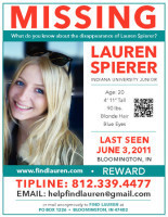 One Year Later, The Search for Lauren Spierer Continues | Lauren Spierer | Scoop.it