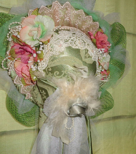 Victorian Hat Wreath Romantic Spring Brides | Candy Buffet Weddings, Events, Food Station Buffets and Tea Parties | Scoop.it
