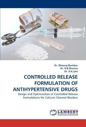 CONTROLLED RELEASE FORMULATION OF ANTIHYPERTENSIVE DRUGS: Design and Optimization of Controlled Release Formulations for Calcium Channel Blockers | Cardiotoxicity | Scoop.it