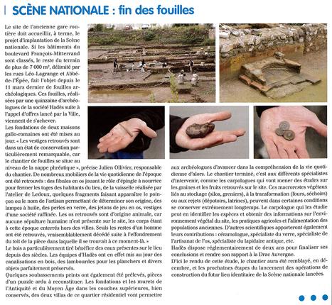 Clermont-Ferrand (63) : les fouilles archéologiques menées par Hadès sont achevées | HADES - Archéologie | Scoop.it
