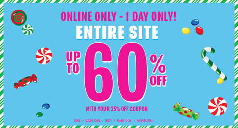 25% off everything online at The Children's Place | Deals | Scoop.it