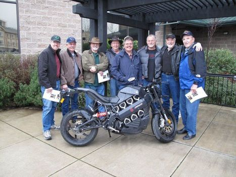 Retired Police Officers Visit Brammo. | Facebook | Brammo Electric Motorcycles | Scoop.it