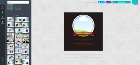Canva, realiza tus diseños fácilmente con esta herramienta web | tecnología | Scoop.it