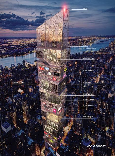 Ces immeubles du futur ont la folie des grandeurs | Luxury Real estate | Scoop.it