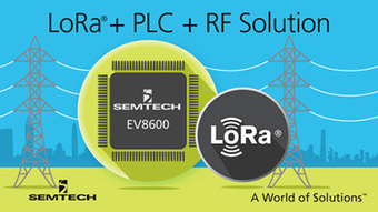 IoT news - Semtech Announces the Industry's First Single Chip Hybrid PLC and LoRa Wireless Platform | IoT Business News | Scoop.it