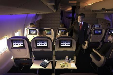 Delta Just Raised the Stakes in the In-Flight Entertainment Arms Race | Aviation Matters | Scoop.it