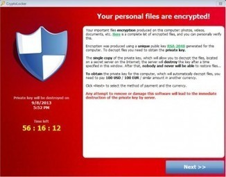 Cryptolocker virus | All your personal files encrypted - Screen Virus | Microsoft Outlook Technical Support TOLL FREE 1 877 693 1662 | Scoop.it