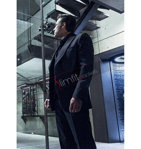 Bruce Wayne BVS Black Lapel Suit | Replica Movies Leather Jackets | Scoop.it