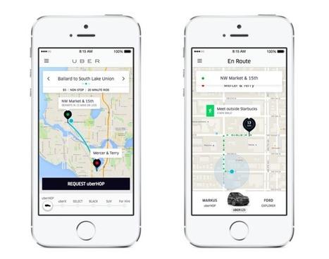 Uber réinvente le bus à Seattle avec UberHop | Economie Responsable et Consommation Collaborative | Scoop.it