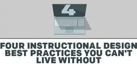 4 Instructional Design Best Practices You Can't Live Without - e-Learning Feeds | CUED | Scoop.it