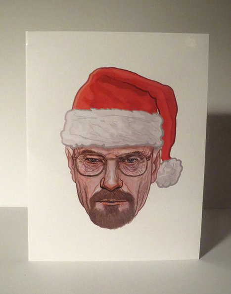Sled Lightly Breaking Bad Christmas Card | iPad Sammy's Pinterest Page | Scoop.it