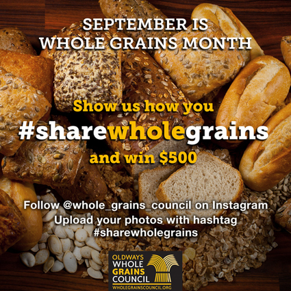 Celebrate Whole Grains Month in September | The Whole Grains Council | Eating Healthy Living Well | Scoop.it