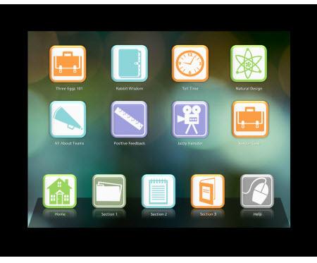 Template gratis per il tuo prossimo corso in mobile learning   E-learning arts   Scoop.it
