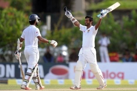 Karunaratne hits hundred on opening day at Galle | Sri Lanka Cricket | Scoop.it