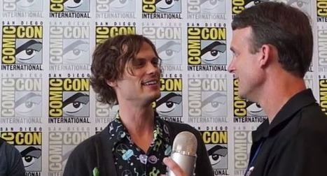 Matthew Gray Gubler Interview from SDCC for Batman: Assault on Arkham | Cartoons for Kids | Scoop.it