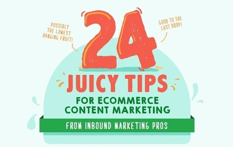 24 Content Marketing Tips from Inbound Marketing Pros | World's Best Infographics | Scoop.it