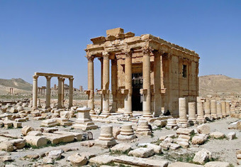 ISIS blows up Baalshamin Temple at Palmyra | The Archaeology News Network | Kiosque du monde : Asie | Scoop.it