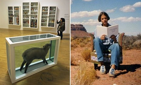 We know what we like, and it's not modern art! How gallery visitors only viewed work by Damien Hirst and Tracy Emin for less than 5 seconds | Photography | Scoop.it