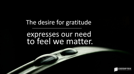 Solution Saturday: No Gratitude From Leaders   Executive Coaching Growth   Scoop.it